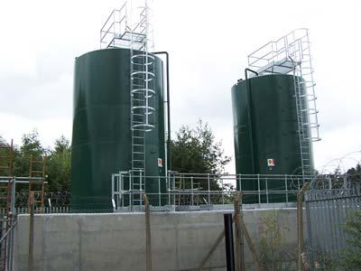 Cylindrical Tanks Bunded Tanks Double Skinned Tanks