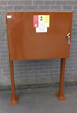 Free-standing Double Fill Point Cabinet