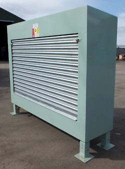 Roller Door Fill Point Cabinet